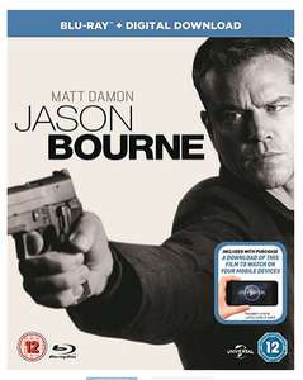 Jason Bourne Blu ray for £5 @ tesco direct