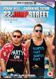 22 Jump Street (DVD + Digital) £1.49 - Base.com