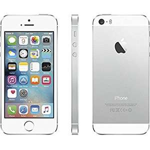 Apple iPhone 5S 16GB - Silver now £99.99 (Refurb / Good) + 12 months warranty /  Free NDD delivery @ Envirofone