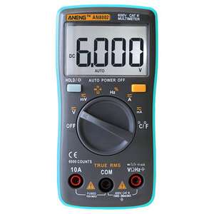 NENG AN8002 Digital True multimeter  8.73 delivered @ banggood