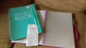 Sainsburys project book - £1.20 instore - Grantham