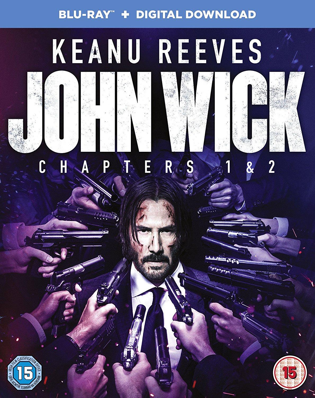 John Wick: Chapters 1 & 2 Blu-Ray £10.99 @ Zavvi