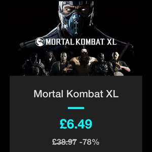 Mortal Kombat XL - Bundlestars - £6.49 - Steam Key - 78% off