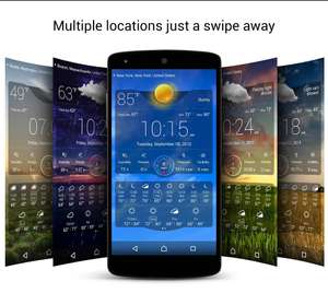 [Android] Weather Live was £1.59 now Free