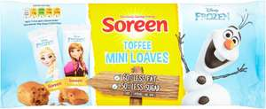 Soreen Disney Chocolate Mini Loaves (5 pack) was £1.35 now £0.75 (Rollback Deal) @ Asda