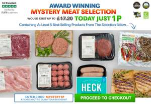 Mystery Hamper for 1p - worth £17.20 @ musclefood min spend £25