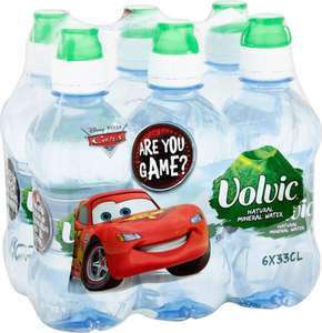 Volvic Mini Still Natural Mineral Water (6 x 330ml) was £1.50 now £1.00 (17p a bottle) (Rollback Deal) @ Asda