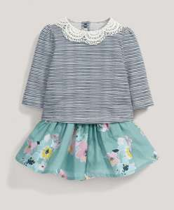 Striped Top and Skirt Set (was £ 29.00) now  £14.50 at Mamas & Papas (more in OP)