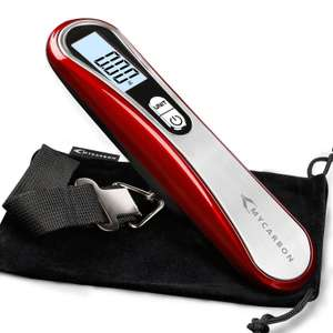 Mycarbon Luggage Scale £4.10 (Prime) Sold by MYCARBON and Fulfilled by Amazon.
