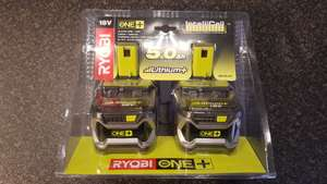 Ryobi 5.0Ah Batteries 2 pack £110 Homebase in-store only