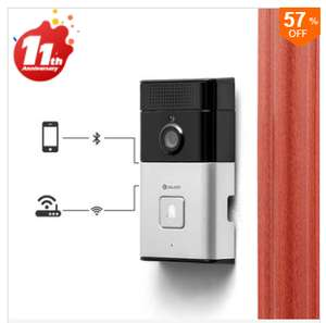 Digoo WiFi doorbell with HD camera,NOW £23.56 including delivery @ Banggood.com