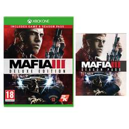 Mafia 3 Deluxe Edition (includes season pass) XB1 & PS4, £22.99 @ Game