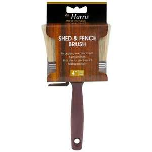 Harris shed and fence brush £1 @ B&M instore