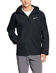 Berghaus Mens Stronsay waterproof jacket from £37.99 (3XL) M/L/XL/2XL available also for a bit extra @ Amazon
