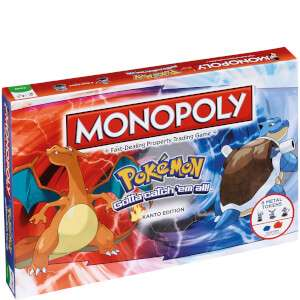 Monopoly - Pokémon Edition £18.69 delivered with code MONOP @ IWOOT