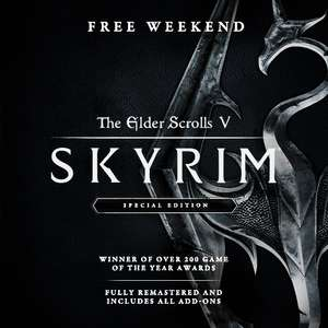 The Elder Scrolls V: Skyrim Special Edition (Free to Play weekend) @ Steam