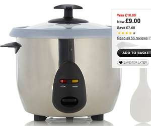 George Home Rice Cooker only £9