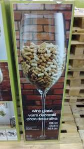 Giant wine glass 1.18 metres @Costco  in store only £59.98