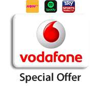 Vodafone 12m sim 40GB Unlimited texts/calls