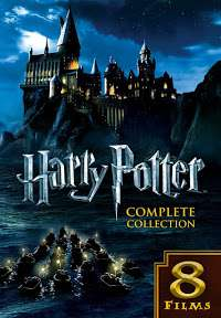 All 8 Harry Potter films on Google play Movies (only SD) £3.99