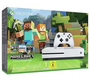 Xbox One S 500GB Console Minecraft Favourites Bundle £179.99 or add  Destiny 2 + halo 2 for £199.99 at Argos