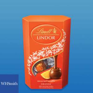 Free box of Lindor Milk Orange via O2 Priority @ WHSmith Travel stores