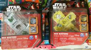Star Wars Box Busters (Mini Games With Dice) - Various, In Store @ Poundland, £1
