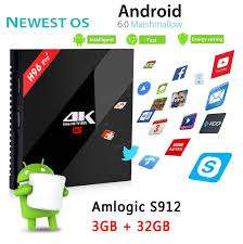 H96 PRO PLUS Amlogic S912 Octa Core 3GB RAM 32GB ROM TV Box - £37.31 at Banggood.. A Bargain
