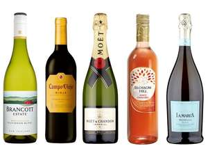 25% Off When You Buy 6 Or More Bottles Of Wine Or Champagne (works on reduced wines too!)  at Tesco