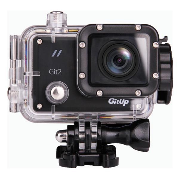 GitUp Git 2 Pro 2K WiFi Action 1440P 1.5 inch LCD Novatek 96660 Chipset IMX206 16.0MP Image Sensor £69.91 at Banggood