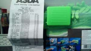 Car cleaning kit Asda Weymouth 30p reduced to clear