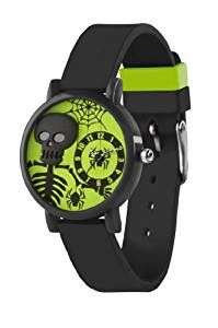 Kids Watch (ideal for Halloween) £3.99 Add On item / £20 minimum Spend @ Amazon (also Spider Themed Orange Watch, Dog-Tag + Wallet Set £6.99 Delivered in OP)
