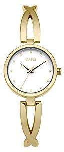 Oasis Women's Quartz Watch with White Dial & Gold Alloy Bracelet £7.75 Prime / £11.74 Non Prime @ Amazon