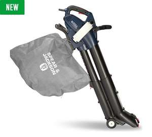 Spear and Jackson leaf blower / vac with 3 year guarantee after registration £44.99 @ Argos