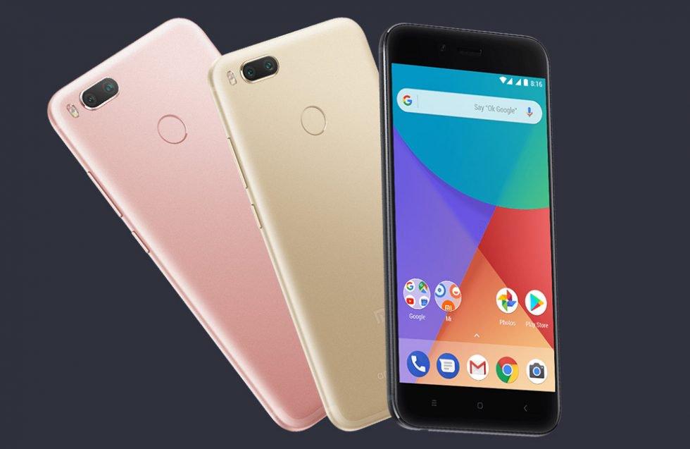 (Pre-Order) Xiaomi Mi A1 MiA1 Dual Rear Camera 5.5 inch 4GB RAM 64GB Snapdragon 625 £166.68 with code @ Banggood