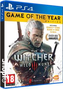 [PS4/Xbox One] Witcher 3: Wild Hunt - Game of the Year Edition - £17.86 - Shopto