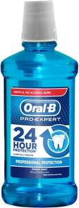 Oral B Pro Expert Multi Protection Rinse (500ml) was £1.49 now £1.00 @ Poundstretcher