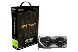 Palit GeForce GTX 1080 JetStream for £448.35 @ ebuyer