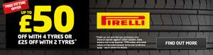 FREE FITTING When You Buy 2 or More Pirelli Tyres at ATS Euromaster