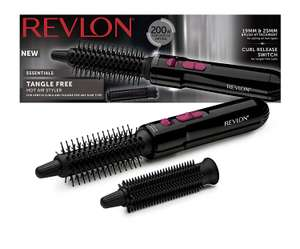 Revlon Tangle Free Hot Air Styler now £11.49 / Revlon Fast and Light 2000w Hair Dryer now £12.99 Del with voucher @ Amazon (+ more in OP )