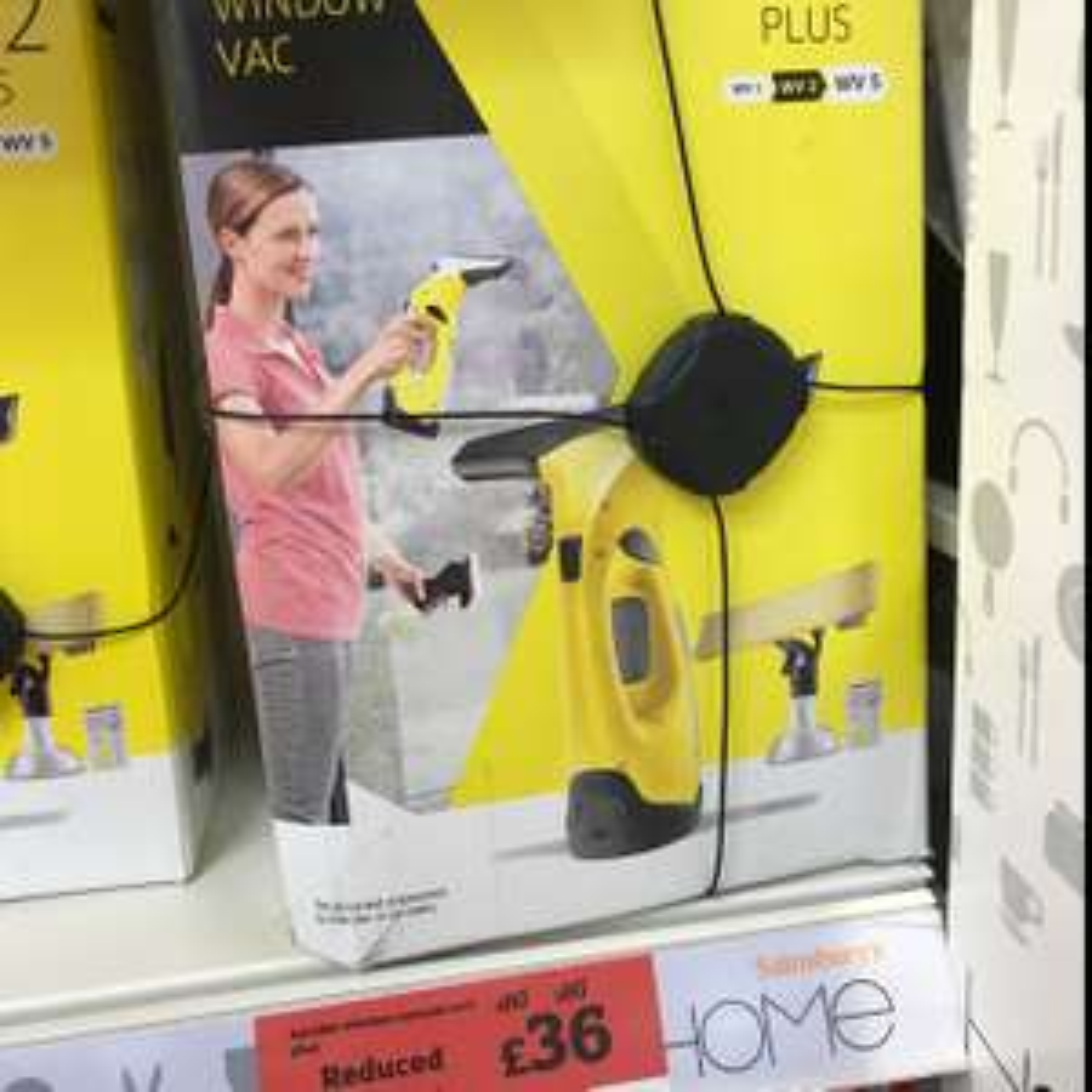 Karcher WV2 window vac £36 (Sainsbury's)