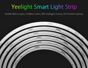 Original Xiaomi Yeelight Smart Light Strip - £22.39 @ GearBest