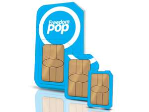Freedompop PREMIUM annual payg Unlimited/2.25GB
