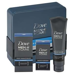 Dove Men + Care Essential Face Care Tin Mens Gift Set £5.08 prime / £9.83 non prime @ Amazon