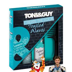 Toni & Guy Tousled Waves Kit Gift Set £3.91 Prime / £8.99 non Prime @ Amazon