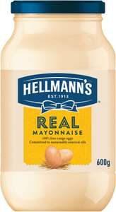 Hellmann's Real & Light Mayonnaise (600g) was £2.69 now £1.50 (Rollback Deal) @ Asda