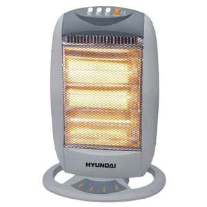 HYUNDAI HALOGEN HEATER 1200W ONLY £16.99 @ Poundstretcher