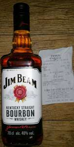 Jim Beam 70cl, £10.45 RTC In Store @ Tesco Merchant Express, High Street, Glasgow