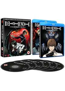 Death Note: Complete Series And Ova Collection [Blu-ray] £25.09 delivered @ Base