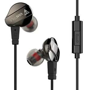 Noise Isolating in Ear Headphones Sports Earphones with Microphone and Remote £15.99 Prime / £19.98 Non Prime @ Amazon